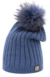 Dámska čiapka cz18629 .1 Blue
