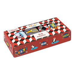 Zokni ajándék szett Crazy Socks Box