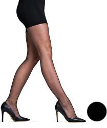 Jemné strečové punčochové kalhoty Black