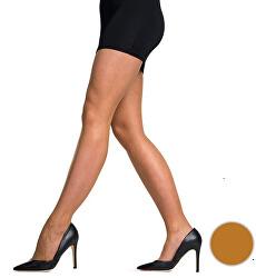 Lesklé punčochové kalhoty Bronze