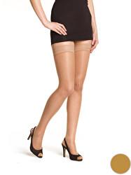 Dámske samodržiace pančuchy Beauty Hold Ups 15 DEN Amber BE280001 -230