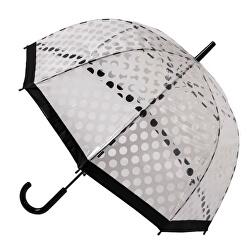 Dámský holový průhledný deštník
