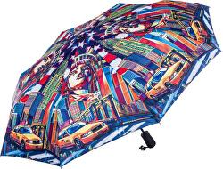 Dámský skládací plně automatický deštník