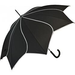 Dámský holový deštník Black Swirl