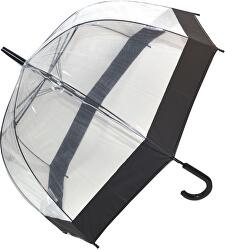 Dámský průhledný holový deštník Clear Domes