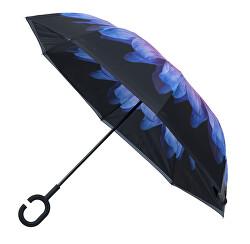 Női beltéri esernyő kívül Purple Daisy esernyő