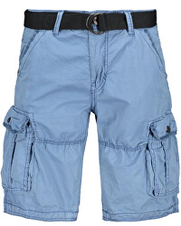 Pánské kraťasy Durras Short Cotton Grey Blue