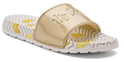 Dámské pantofle Cleo White/gold Zigzag