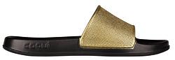 Dámské pantofle Tora Black/Gold Glitter
