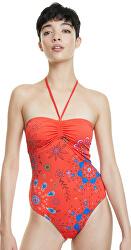 Dámske jednodielne plavky Biki Creta Rojo Clavel 20SWMK14 3036