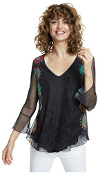 Tricou pentru femei Ts Brulé Negro 20SWTKB3 2000