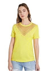 Doamnelor T-shirt Ts Tropic Gânduri Blazing 20SWTK15 8035