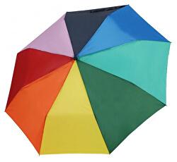 Női mechanikus összecsukható esernyő Rainbow