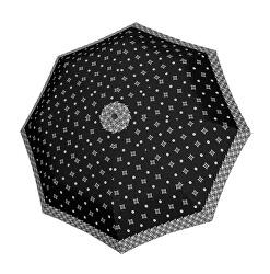 Dámský skládací deštník Black&white
