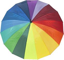 Holový deštník London Rainbow