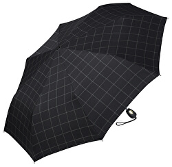 Férfi összecsukható automata esernyő Gents Mini Tecmatic Check