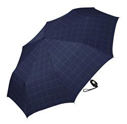 Pánsky skladací dáždnik Gents Mini Tecmatic Check Blue