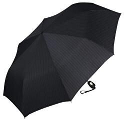 Pánsky skladací dáždnik Gents Mini Tecmatic Needle Stripe Black