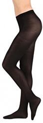 Elastické černé dámské punčochové kalhoty