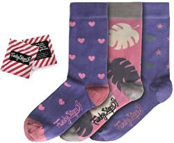 3 PACK - dámske ponožky