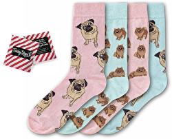4 PACK - dámske ponožky