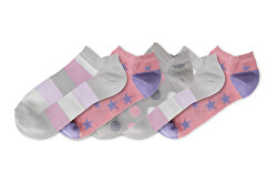 5 PACK - dámske ponožky