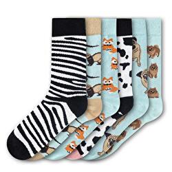 6 PACK - dámske ponožky