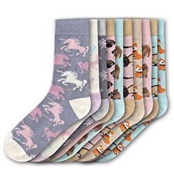 10 PACK - dámske ponožky