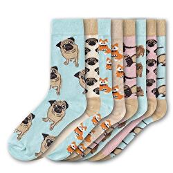 8 PACK - dámske ponožky