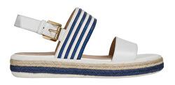 Dámske sandále D Sandal Leelu ` White / Blue