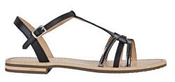 Sandale pentru femei D Sozy Black/Gun