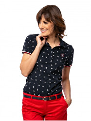 Tricou polo pentru femei Disda navy