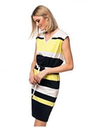 Női ruha Venla lemon