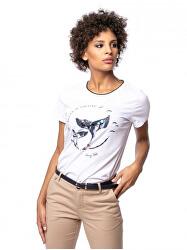 Tricou pentru femei Mrafi white