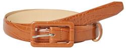 Cintura da donna PCHEATHER JEANS BELT Cognac