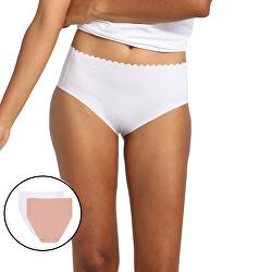 2 PACK - dámské kalhotky s vyšším pasem