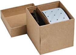 Dárková sada JACCONNOR TIE BOX Cashmere Blue Mini