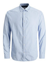 Pánská košile JJEPLAIN POPLIN Slim Fit