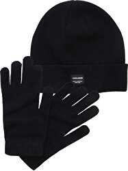 Căciulă și mănuși pentru bărbați setJACBEANIE & GLOVE