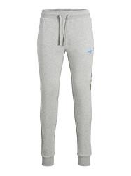 Pantaloni de trening pentru bărbați JJIWILL 12190310Light Grey Melange