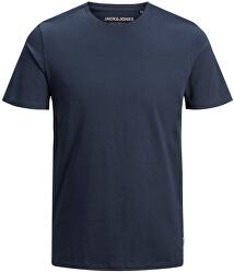 Pánske tričko JJEORGANIC BASIC TEE 12156101 Navy Blaze r SLIM