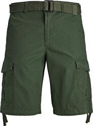 Pantaloni scurți de bărbați JJICHARLIE JJCARGO SHORTS AKM 803 Forest Night