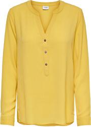 Doamnelor Blouse JDYTRACK L / S de compatibilitate bluzei noos Mist ed Yellow
