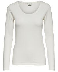 Tricou pentru femei JDYAVA L / S TOP JRS NOOS Cloud Dancer