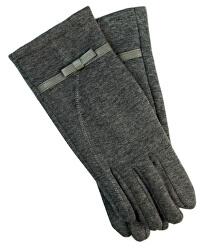 Mănuși pentru femei cu curea - gri
