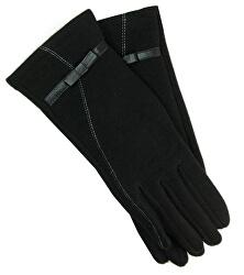 Mănuși pentru femei cu curea - negre