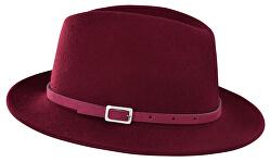 Pălărie pentru femei - visinie