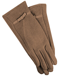 Mănuși pentru femei cu curea - bej
