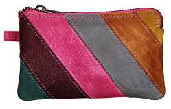 Mini bőr pénztárca-kulcstartó