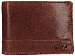 Pánska kožená peňaženka 64665 / t Tan